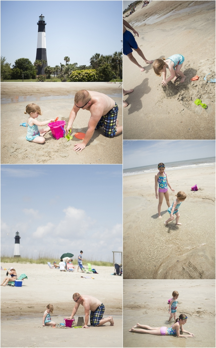 ocean front, waves, sand buckets, fun in the sun